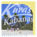 please stay at Kuras Kabanas - a beautiful mini resort on Muri Lagoon