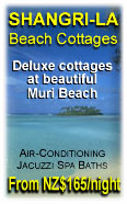 stay at Shangi-La on Muri Beach / Rarotonga (deluxe cottages with common pool)